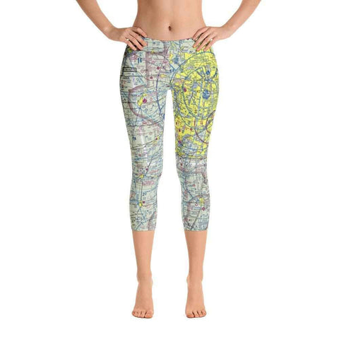 Chicago Sectional Capri Leggings - RadarContact