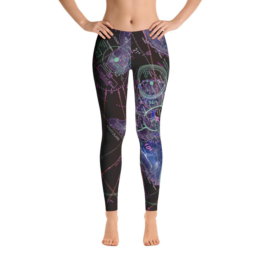 Hawaii Sectional Leggings (Inverted) - RadarContact - ATC Memes