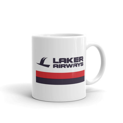 Retro Laker Airways Mug