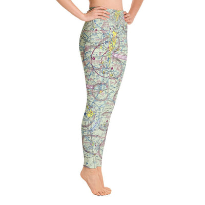 Indianapolis Sectional Yoga Leggings - RadarContact - ATC Memes