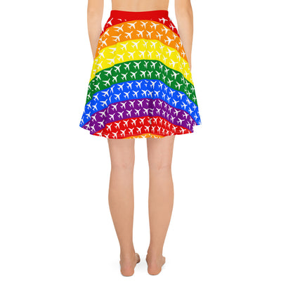 Aviation Pride Skater Skirt