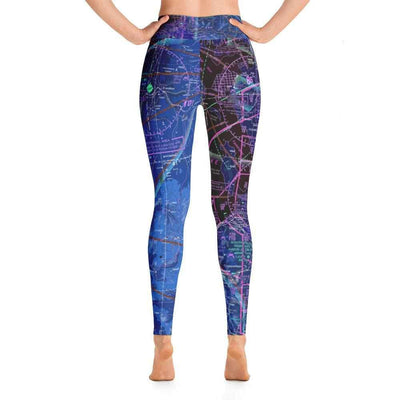 Salt Lake Sectional Yoga Leggings (Inverted)