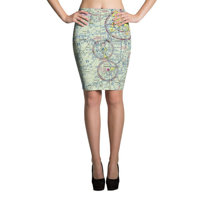 Louisville Sectional Pencil Skirt - RadarContact