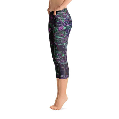 Wichita Sectional Capri Leggings (Inverted)