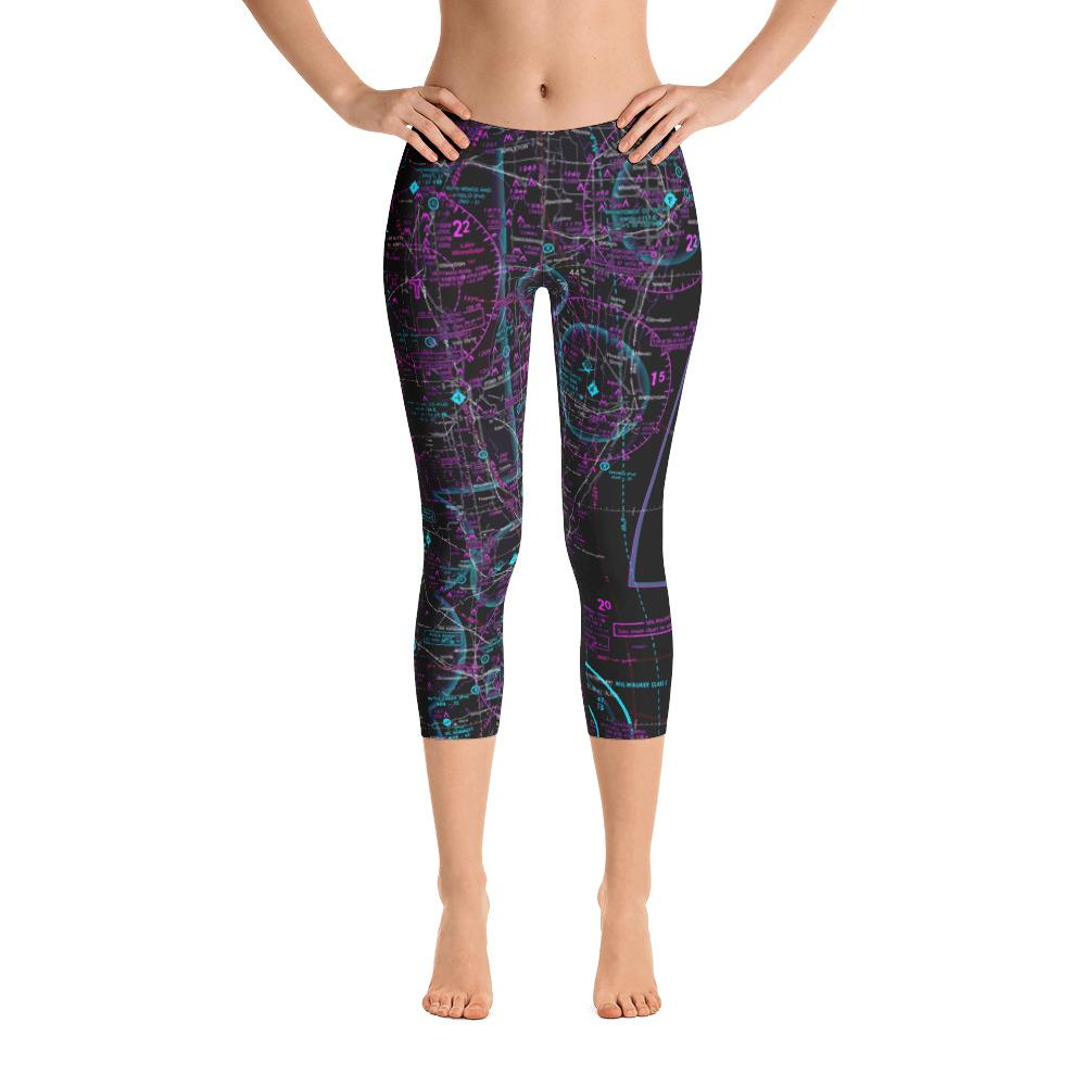 Oshkosh Sectional Capri Leggings (Inverted)