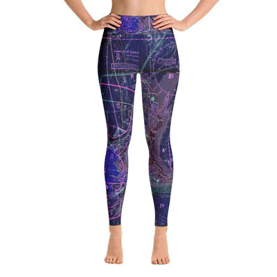 Las Vegas Sectional Yoga Leggings (Inverted) - RadarContact
