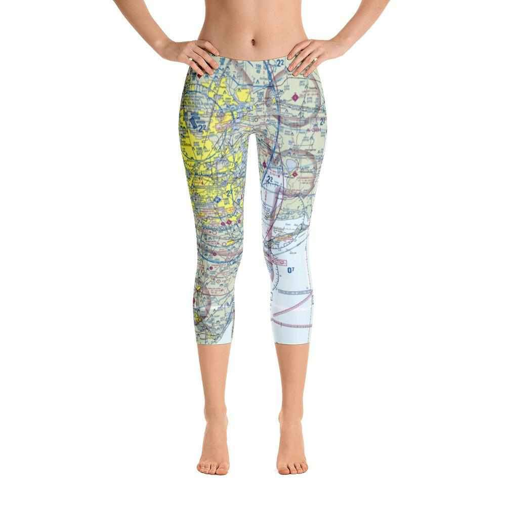 2582fcbd1d9cf9 Houston Sectional Capri Leggings - RadarContact - ATC Memes