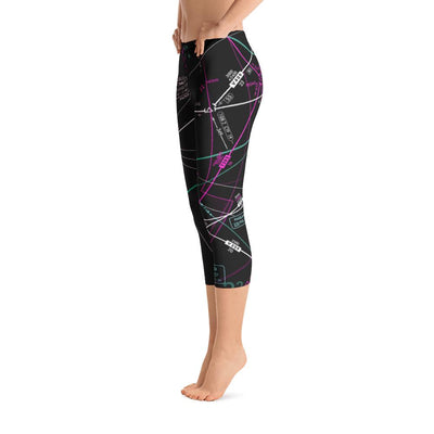 Charlotte Low Altitude Capri Leggings (Inverted) - RadarContact - ATC Memes