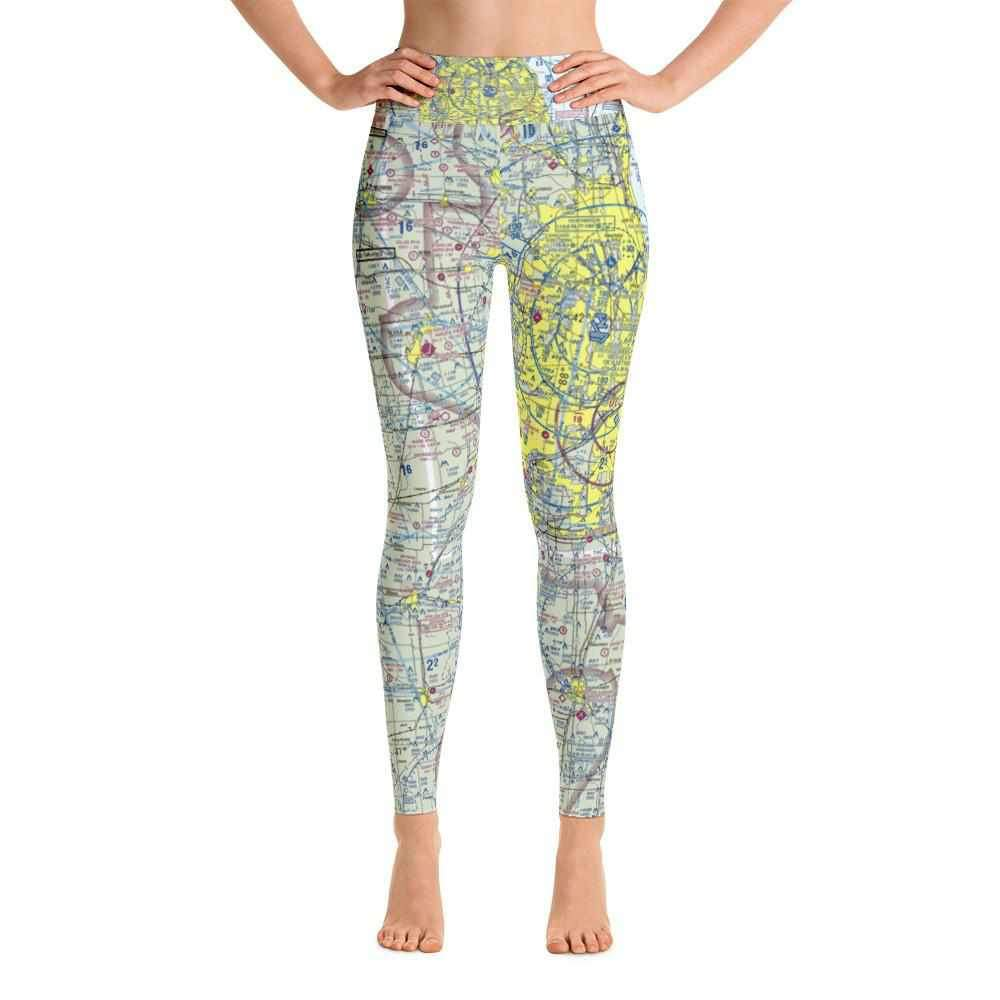 Chicago Sectional Yoga Leggings - RadarContact - ATC Memes