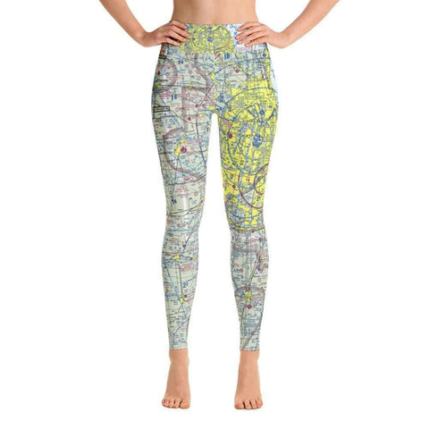 Chicago Sectional Yoga Leggings - RadarContact