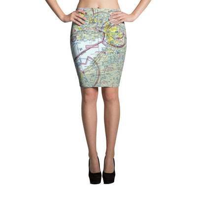 Buffalo Sectional Pencil Skirt - RadarContact - ATC Memes