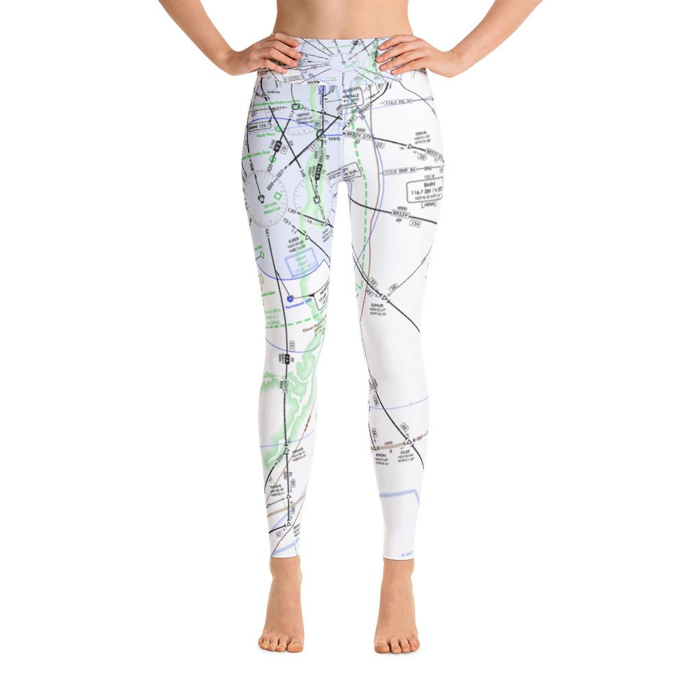 Miami Low Altitude Yoga Leggings - RadarContact