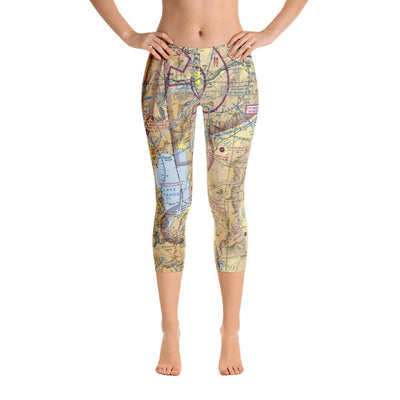 Truckee Tahoe Sectional Capri Leggings