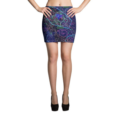 Boise Sectional Mini Skirt (Inverted) - RadarContact