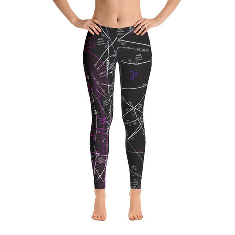 West Palm Beach Low Altitude Leggings (Inverted)