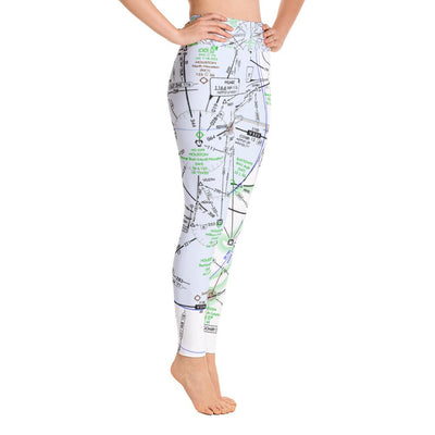 Houston Low Altitude Yoga Leggings - RadarContact - ATC Memes