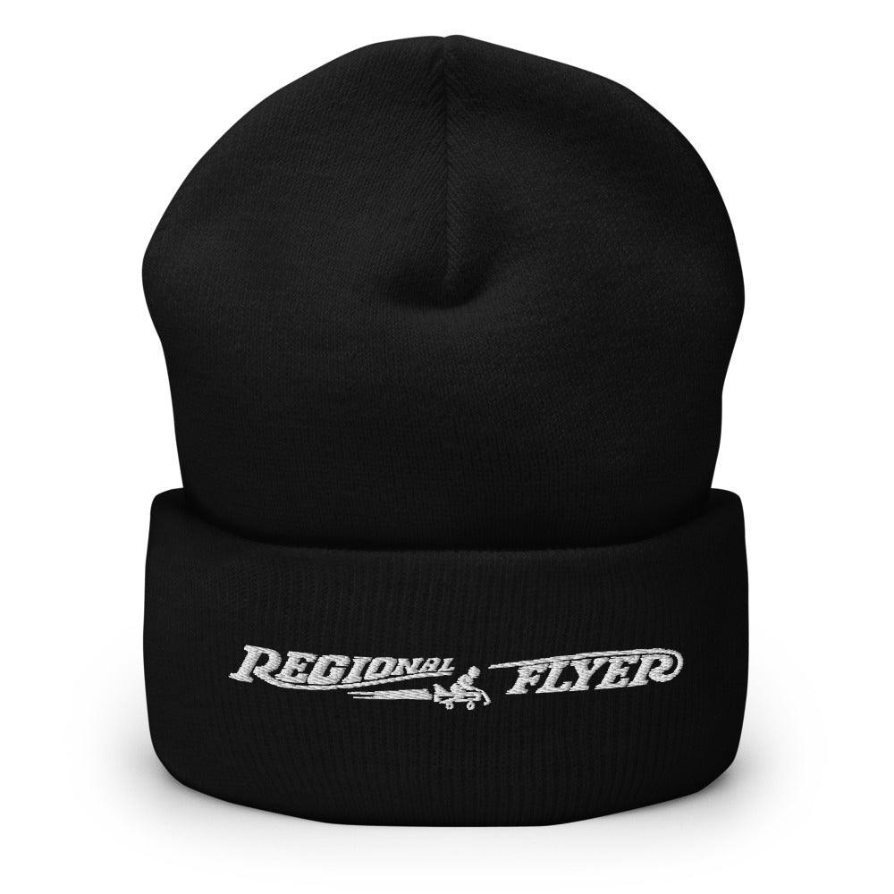 Regional Flyer Embroidered Cuffed Beanie