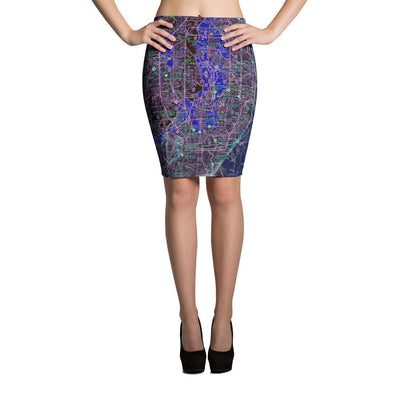 Seattle Sectional Pencil Skirt (Inverted)