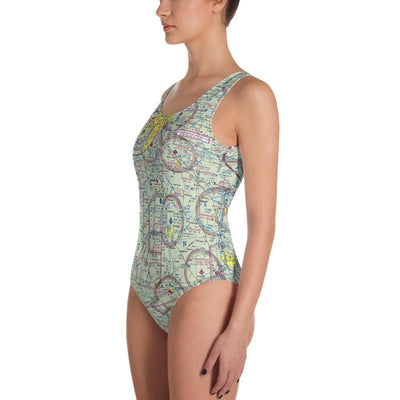 Indianapolis Sectional One-Piece Swimsuit - RadarContact - ATC Memes