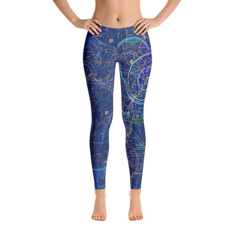 Albuquerque Sectional Leggings (Inverted) - RadarContact - ATC Memes