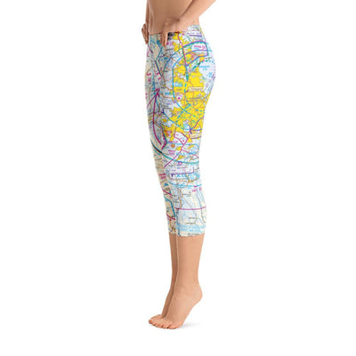 Brisbane Sectional Capri Leggings - RadarContact - ATC Memes
