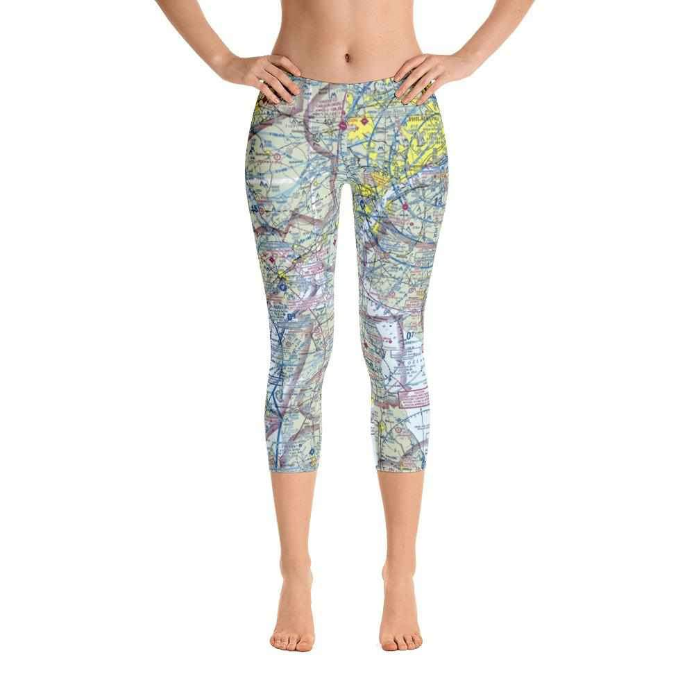 Philadelphia Sectional Capri Leggings