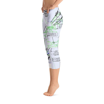 New York Low Altitude Capri Leggings