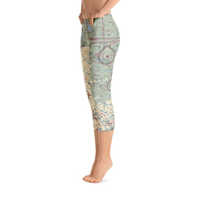 San Angelo Sectional Capri Leggings