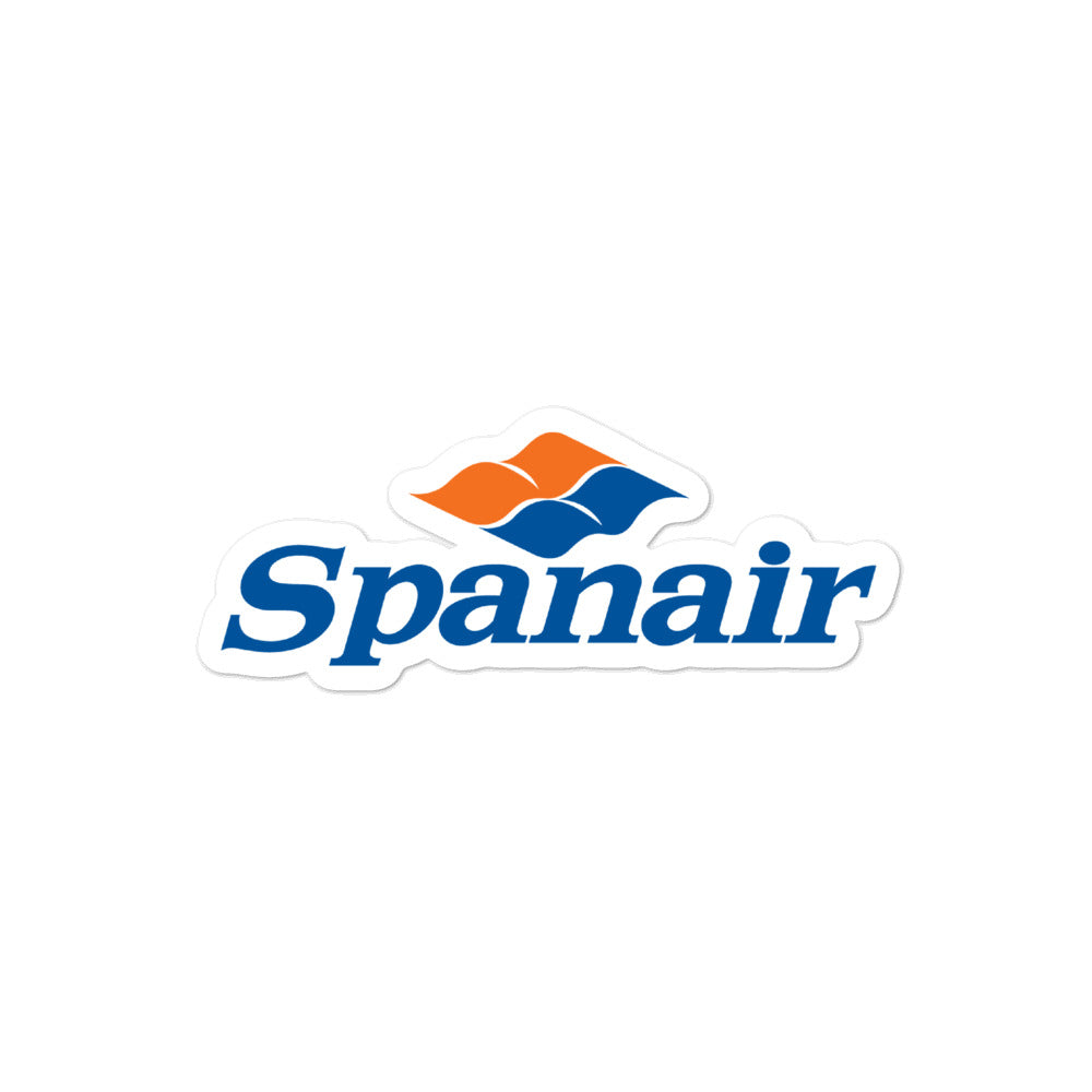 Retro Spanair Sticker