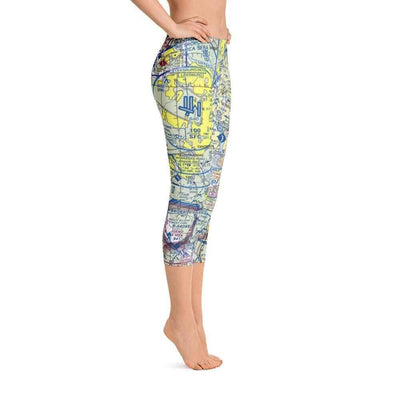 Washington DC Sectional Capri Leggings - RadarContact