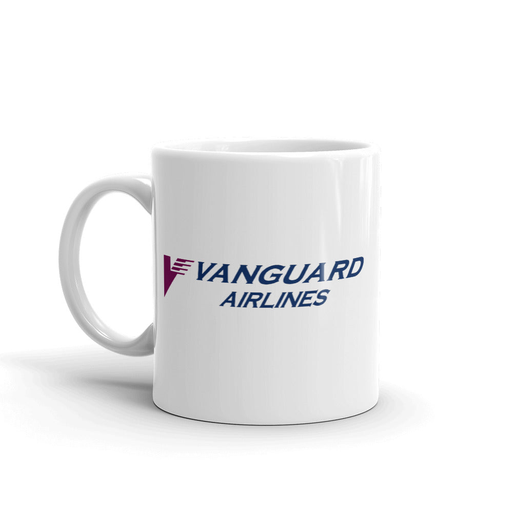 Retro Vanguard Airlines Mug