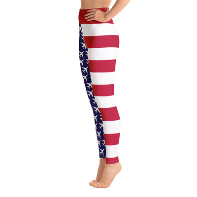 American Aviation Pride Yoga Leggings