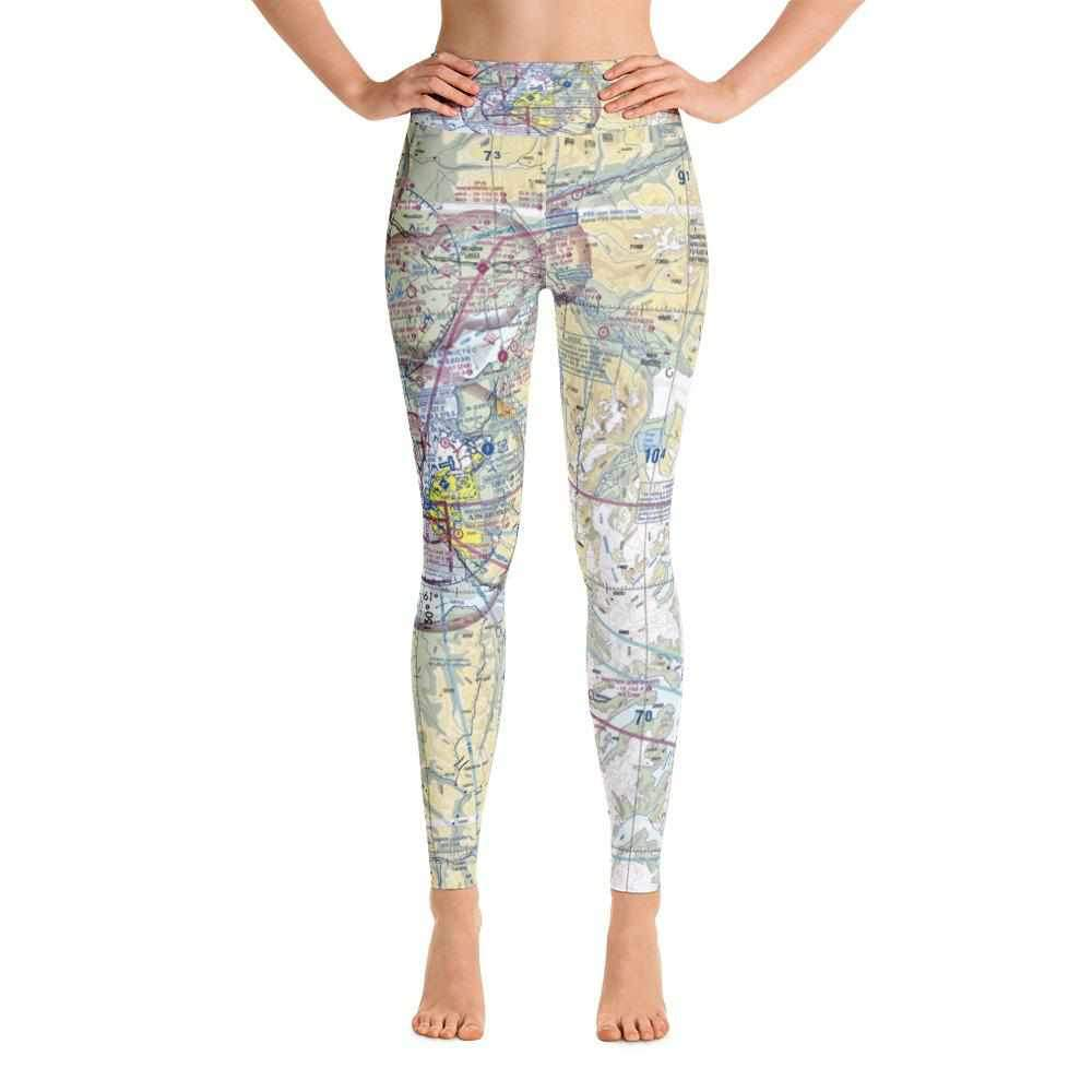 Anchorage Sectional Yoga Leggings - RadarContact