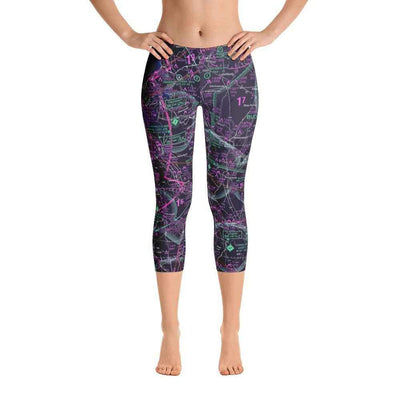 Cincinnati Sectional Capri Leggings (Inverted) - RadarContact - ATC Memes