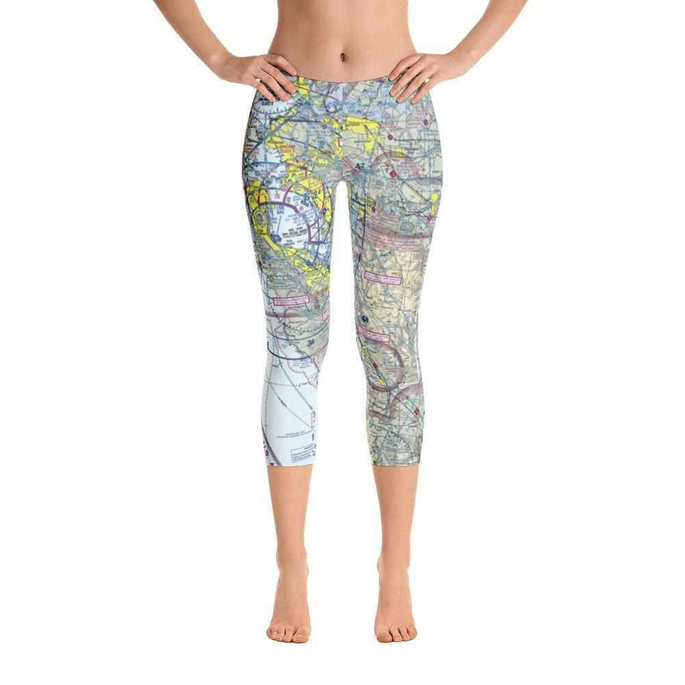 San Francisco Sectional Capri Leggings - RadarContact