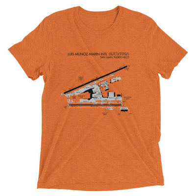 San Juan Airport Diagram Men's T-Shirt