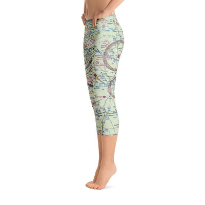 Austin Sectional Capri Leggings - RadarContact - ATC Memes