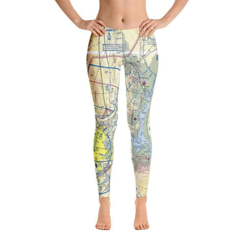 Las Vegas Sectional Leggings - RadarContact