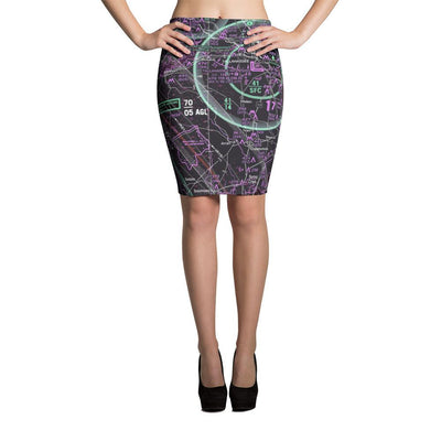 Tallahassee Sectional Pencil Skirt (Inverted) - RadarContact