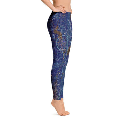 Crater Lake-Klamath Regional Sectional Leggings (Inverted) - RadarContact - ATC Memes