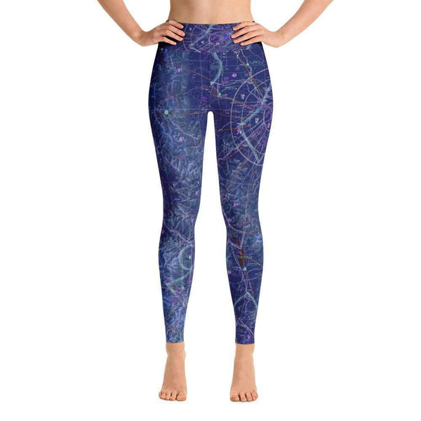 Great Falls Sectional Yoga Leggings (Inverted) - RadarContact