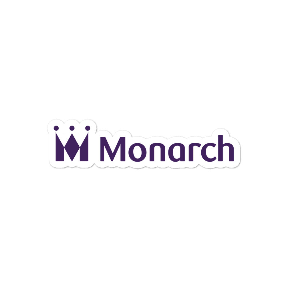 Retro Monarch Sticker