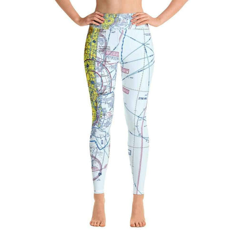 Miami Sectional Yoga Leggings