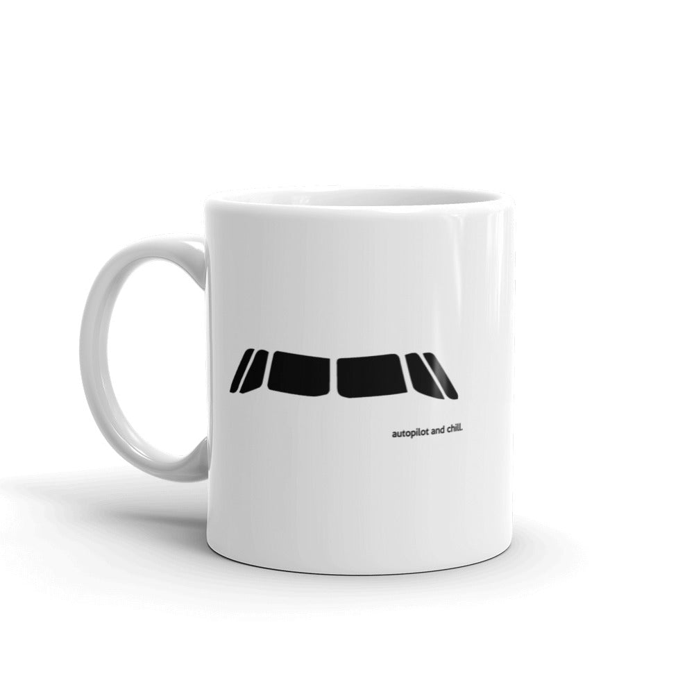A320 Cockpit Window Mug