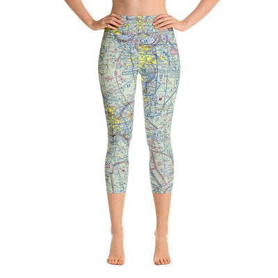 Lakeland Sectional Yoga Capri Leggings - RadarContact - ATC Memes