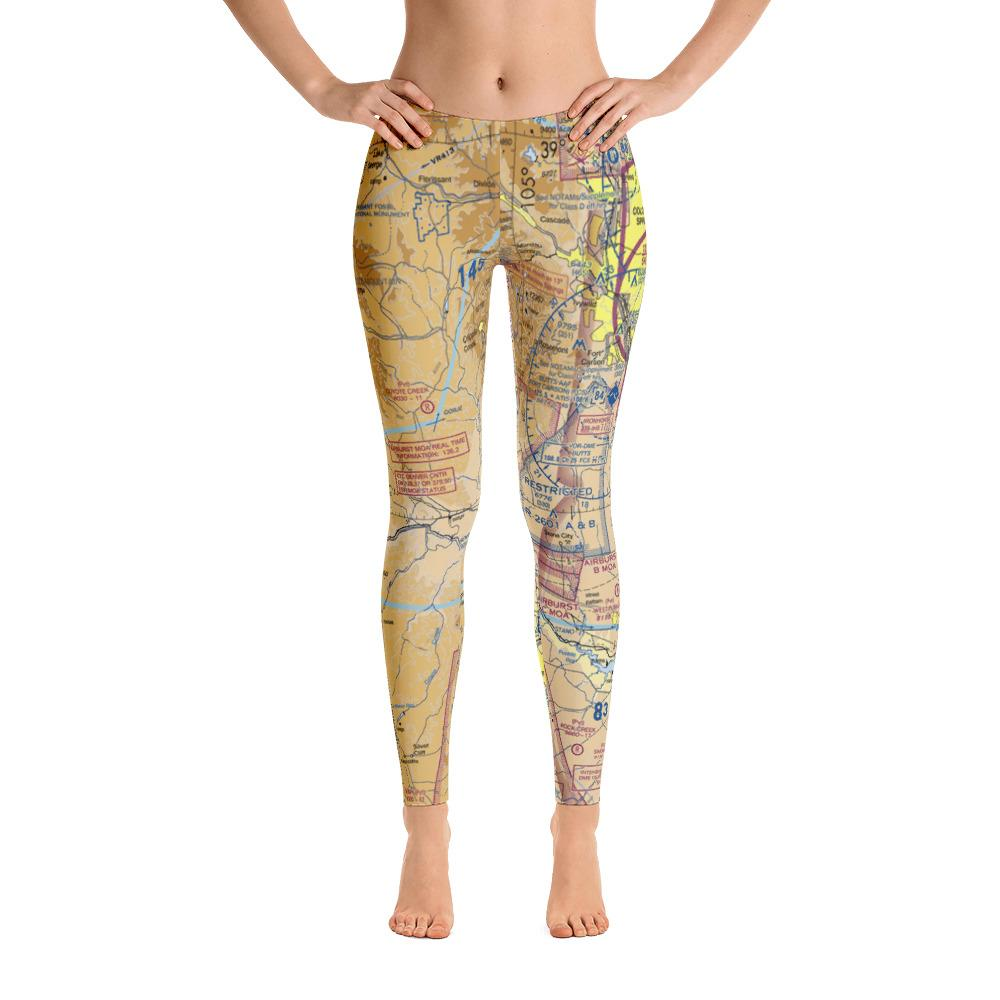 Colorado Springs Sectional Leggings - RadarContact - ATC Memes