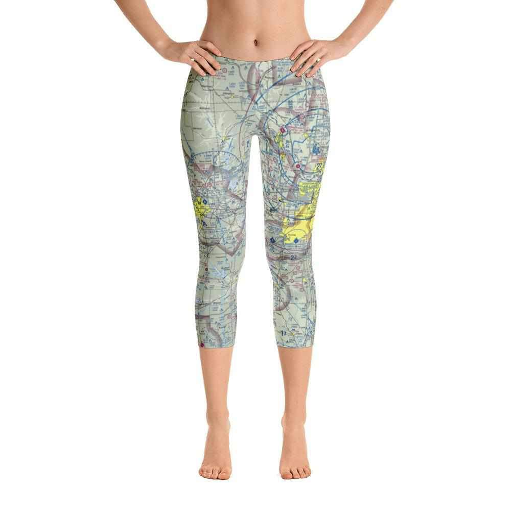 Kansas City Sectional Capri Leggings - RadarContact - ATC Memes