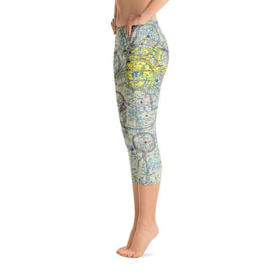 Memphis Sectional Capri Leggings - RadarContact