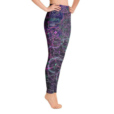 Cincinnati Sectional Yoga Leggings (Inverted) - RadarContact - ATC Memes