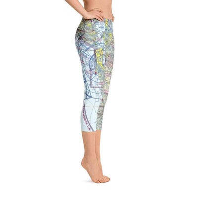 San Francisco Sectional Capri Leggings